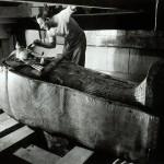 Howard Carter in Tutankhamun's Tomb by Harry Burton