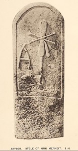 Stela of First Dynasty Queen Merneith