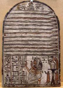 Wab worshiping Meretseger as 12 Serpents