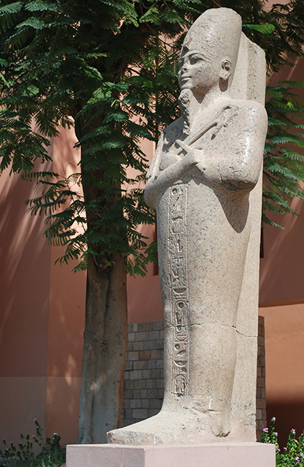 14. Luxor Museum statue Ram II
