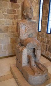 Seated statue of Thutmose II, Aswan.