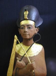 Shabti from the tomb of Tutankhamun