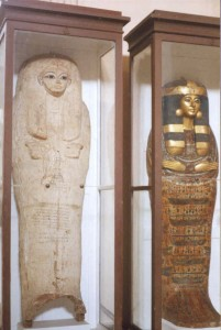 The Coffins of Seti I (19th Dynasty) & Isiemkheb (21st Dynasty)