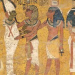 Figure 1. Painted burial chamber in the tomb of Tutankhamun