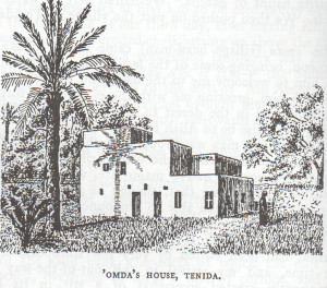 The house of the Omda