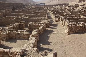 The village of Deir el Medina, West Bank, Luxor